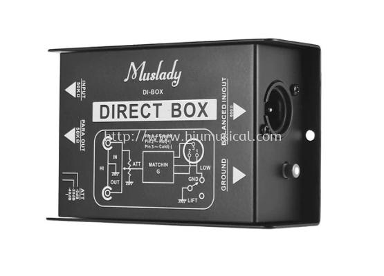 Muslady DI-Box Injection Audio Direct Box