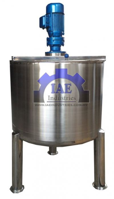 STAINLESS STEEL MIXING TANK (CODE: 1010)