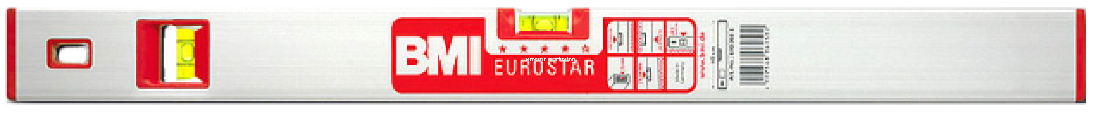 ALUMINIUM SPIRIT LEVEL (EUROSTAR 2000)