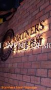 Lee & Partners (Bandar Damansara Perdana) Stainless Steel Signage