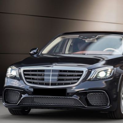 Mercedes Benz S-Class W222 S65 Look AMG Facelift bodykit