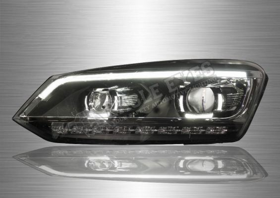 VW Vento Projector LED Sequential Signal Headlamp (P Type) 09-18