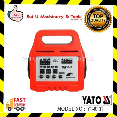 Yato YT-8301 Digital Battery Charger 6V/12V