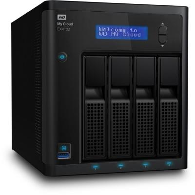 WD MY CLOUD EX4100 0TB - WDBWZE0000NBK-SESN