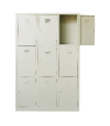 9 Compartments Steel Locker Steel Locker  Steel  Office Furniture