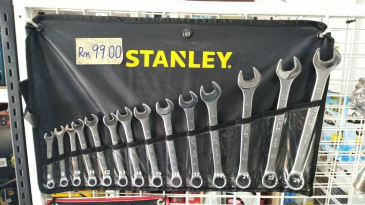 Stanley 14pcs Combination Wrench 8-24mm