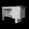 Steel Single Pedestal Desk 4' With Block Leg  Steel Table Steel  Office Furniture