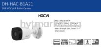 DaHua HAC-B1A21P Outdoor Camera 1080P 3.6mm CCTV Camera Recorder CCTV System