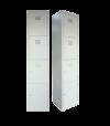 4 Compartments Steel Locker S114/B Steel Locker  Steel  Office Furniture