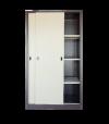 Full Height Cupboard with Steel Sliding Door S116 Steel Cupboard Steel  Office Furniture