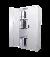 Full Height Cupboard With Steel Swinging Door S118 Steel Cupboard Steel  Office Furniture
