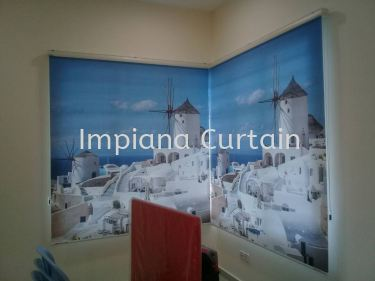 Roller Blinds - Custom Print
