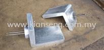 Aluminium casting L-shaped heater Aluminium Casting