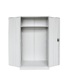 Full Height Wardrobe with Steel Swinging Door S199 Steel Cupboard Steel  Office Furniture