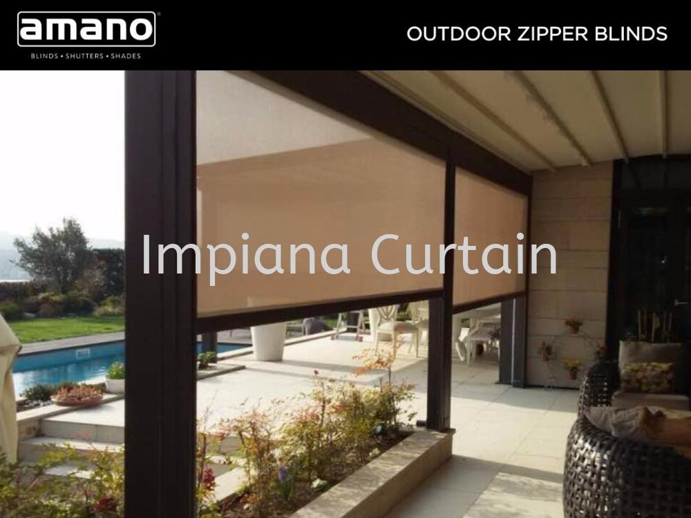 Amano - Outdoor Zipple Blinds
