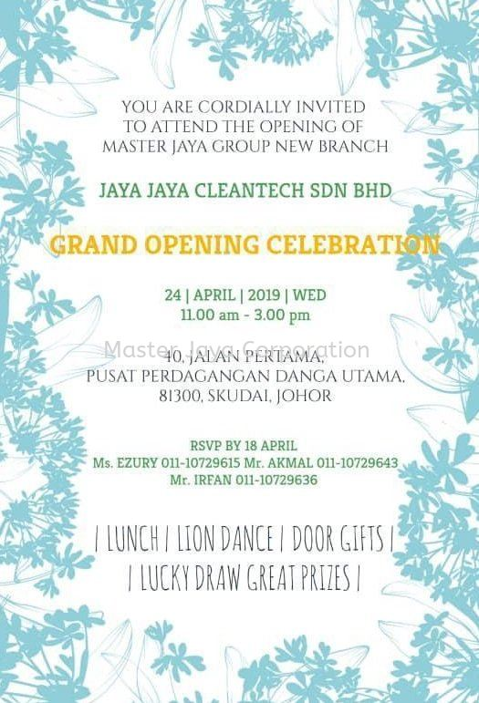 Johor New Branch Grand Opening Celebration