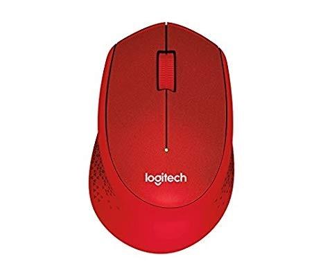 Logitech M331 Silent Mouse W/L-RED