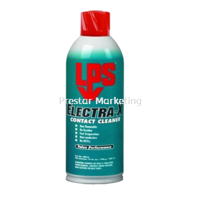 LPS ELECTRA-X NONFLAMMABLE CONTACT CLEANER 00816