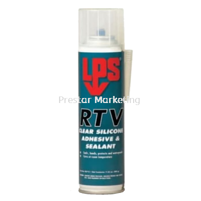 LPS RTV CLEAR SILICONE ADHESIVE & SEALANT 03712