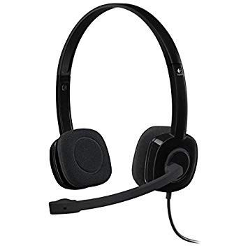 Logitech H151 Headset BLK Single Pin