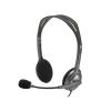 Logitech H111 Headset Stereo Style Pin Logitech Headset