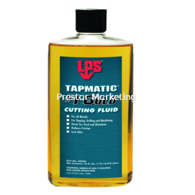 LPS TAPMATIC #1 GOLD CUTTING FLUID 40320
