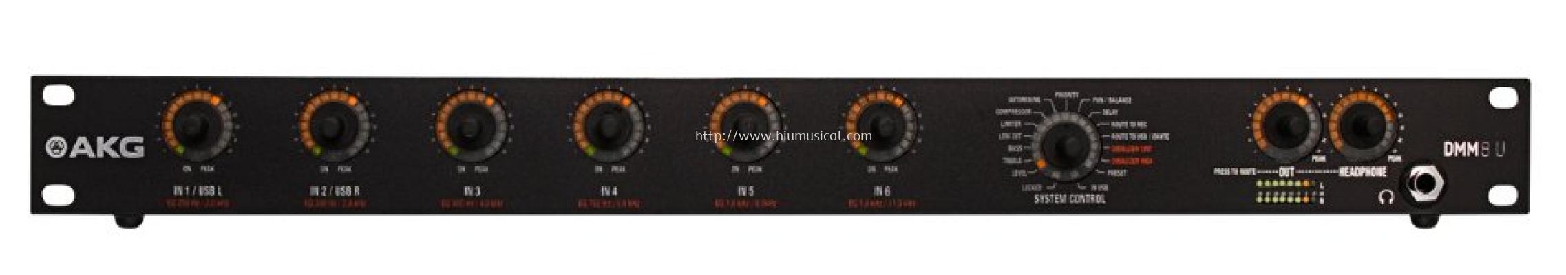 AKG DMM8 U Digital Automatic Microphone Mixer