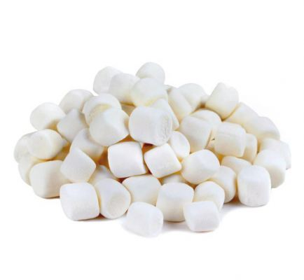 White / Mini Marshmallow, 1kg/pkt