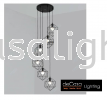 JL-MJ05-BK-6RB HIGH CEILING PENDANT LIGHT