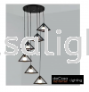 JL-MJ16-BK-6RB HIGH CEILING PENDANT LIGHT