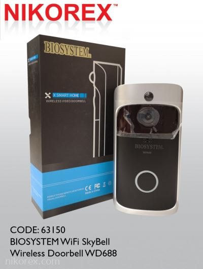 63150 - BIOSYSTEM WiFi SkyBell Wireless Doorbell WD688