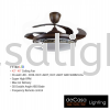 FANCO FAN F1153 LED Fanco CEILING FAN / KIPAS SILING
