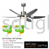 FANCO FAN R560 CHROME Fanco CEILING FAN / KIPAS SILING