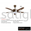 FANCO FAN F1312 LED GM Fanco CEILING FAN / KIPAS SILING