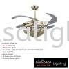 FANCO FAN F119 GOLD Fanco CEILING FAN / KIPAS SILING