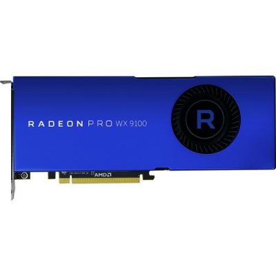 AMD RADEON PRO WX9100 16GB HBC 6 Display Port 1.4 HDR Ready