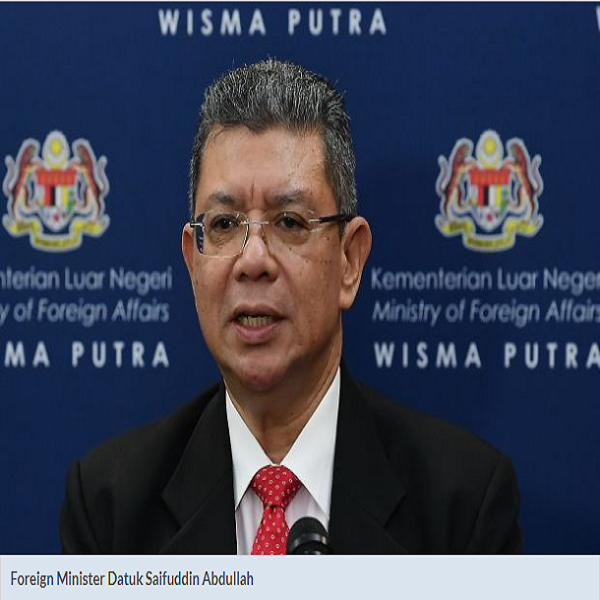Wisma Putra to summon envoy, urges US to remove Malaysia from 'K' list TravelNews