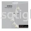 HD-SJ-7811-WH-6RB HIGH CEILING PENDANT LIGHT