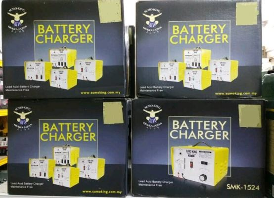 Sumo King Battery Charger 6V, 12V, 24V