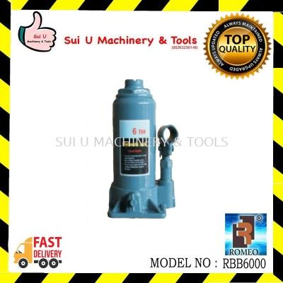 Romeo Hydraulic Bottle Jack 6ton