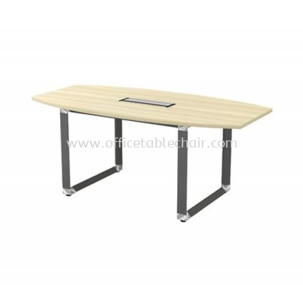 PYRAMID BOAT SHAPE MEETING OFFICE TABLE AOBB18 (C/W FLIPPER COVER)