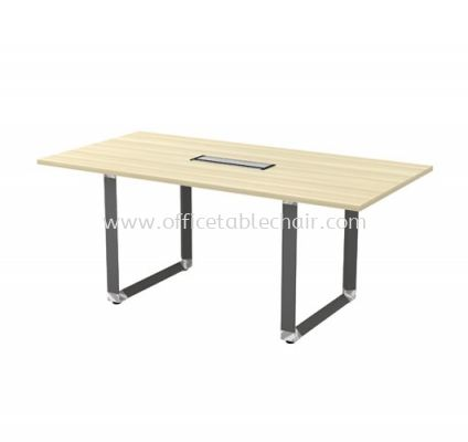 PYRAMID RECTANGULAR MEETING OFFICE TABLE AOVB18 (C/W FLIPPER COVER)