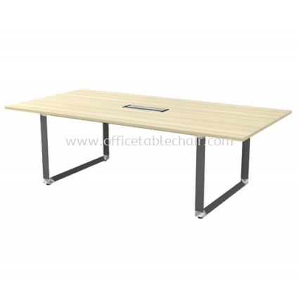 PYRAMID RECTANGULAR MEETING OFFICE TABLE AOVB24 (C/W FLIPPER COVER)