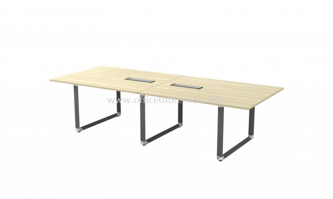 PYRAMID RECTANGULAR CONFERENCE MEETING OFFICE TABLE AOVB30 (C/W FLIPPER COVER)