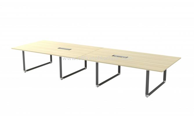 PYRAMID RECTANGULAR CONFERENCE MEETING OFFICE TABLE AOVB48 (C/W FLIPPER COVER)