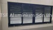 Aluminium Louver Door
