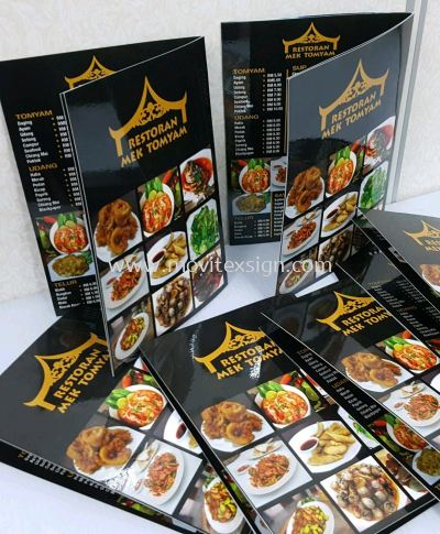 food products catalogs printing book
