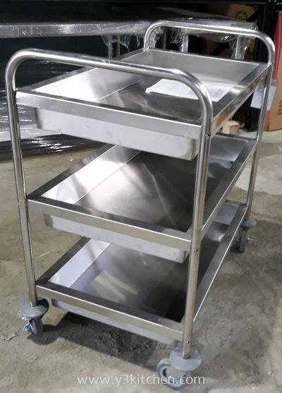 FRD-L3 3L S.Steel Dining Cart