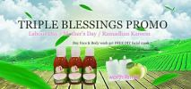 TRIPLE BLESSINGS PROMO ( Happy Labour's Day/ Happy Mother's Day / Ramadhan Kareem