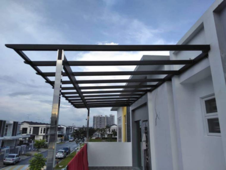 To supply & installation ACP , awning job
